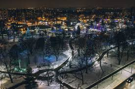 Park Lighting Calgary Victoria Park Highlights A Festive Friday In The Forest City