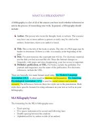What Is A Bibliography Citation Publishing