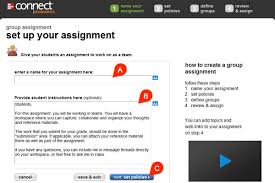 creating group assignments dsa connect success academy setting up your group assignment is a four step process you ll start naming the group assignment a and providing instructions