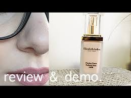 Elizabeth Arden Flawless Finish Perfectly Satin Review Demo