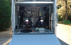 securing a bike in your enclosed motorcycle trailer can be a bit tricky