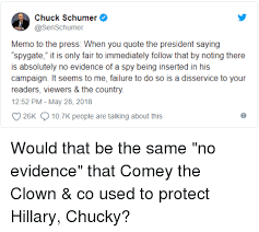Quote Spy Simple Chuck Schumer Memo To The Press When You Quote The President Saying