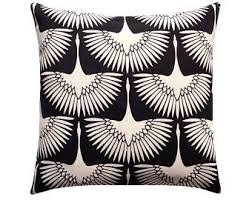 black and cream pillows. Modren Black Black Cream Outdoor Pillow Cover Flock Throw Pillow  Flamingos Patio Modern To And Pillows Etsy