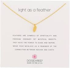 dogeared reminders light as a feather gold dipped ster