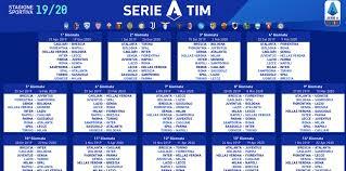Calendario Serie A | Anticipi e posticipi fino alla 21a ...