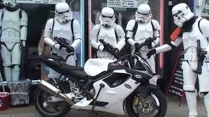 Beautiful Stormtrooper Motorbike Outside Jedi Robe Shop London   YouTube