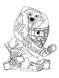 Dessin De Hockey Canadien Coloriagel Duilawyerlosangeles