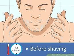 image led remove an ingrown hair step 9