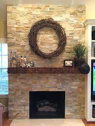 stone fireplace surround cleaner best veneer ideas on mantel family wrapped in dry stacked veneers stone fireplace
