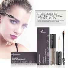 Wunderbrow Shades Chart 4 Colors Women Lasting Waterproof Anti Sweat Does Not Fade Eyebrows Magic Cosmetic Liquid Eyebrow Cream