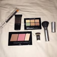 contour concealer kit with brushes maybelline