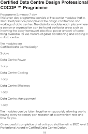 Certified Data Centre Design Professional Cdcdp Certified Data Center Design Professional Cdcdp Pdf Free