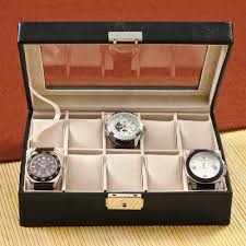 personalized men s leather watch case the man registry personalized men s leather watch case
