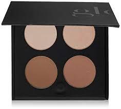 glo skin beauty contour kit fair to light contour mineral makeup palette 4