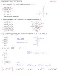 Ged Math Practice Worksheets Test Free Pages Questions Print Out ...