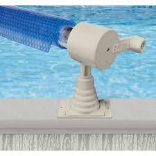 above ground pool solar covers. AquaSplash Above Ground Solar Cover Reel Pool Covers