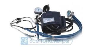 <b>Тонометр AND UA-200</b> механический, стетоскоп в комплекте