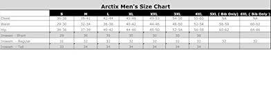 Arctix Mens Snow Pants Black X Large