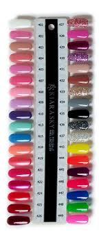 Kiara Sky Dip Powder Swatches In 2019 Sns Nails Colors