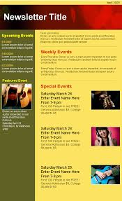 Music Newsletter Templates Creative Html Email Newsletter Templates For Web Designers