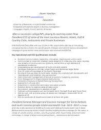Resume Examples Amazing 10 Best College Golf Resume Template