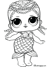 Lol Dolls Coloring Pages Short Stop Series 3 Wave 2 Surprise Doll