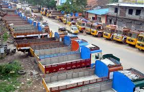 motor vehicle strike hits normal life in kerala