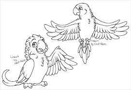 Printable Parrots Template 9 printable bird templates free sample, example, format on parrot outline template