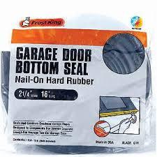 king garage doorFrost King G16 NailOn Rubber Garage Door Bottom Seal 214Inch