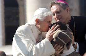 Image result for Benedict XVI in retirement