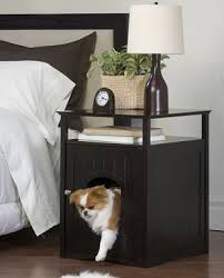 dog crate nightstand