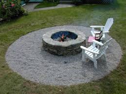 stone fire pit ideas. Fill In Surrounding Area With Landscape Fabric Stone Fire Pit Ideas