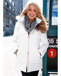 Bargains on Venus Women's Quilted Parka Jackets & Coats - White & Venus Women's Quilted Parka Jackets & Coats - White Adamdwight.com