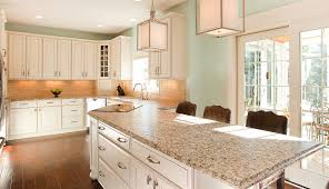 Of White Kitchens With Granite Elegant Best Off White Kitchen Cabinets With Granite Countertops