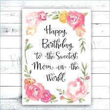 Happy Birthday Card Print Out Free Printable Birthday Card Coloring