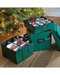Xmas Decoration Storage BoxesChristmas Ornament Storage