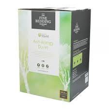 the fine bedding anti allergy duvet double 13 5 tog