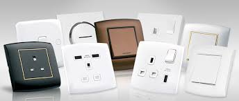 alfanar electrical switches sockets wiring accessories ranges collection