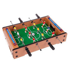 Miniature Wooden Foosball Table Game Table Wooden Mini Soccer Football Game For Kids Game Toy WINMAX 43