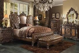 Attractive Versailles Cherry Oak Bedroom Set