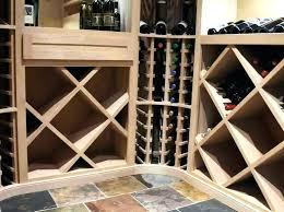Individual Bottle Diamond Wood Wine Rack Bin Individual Bottle