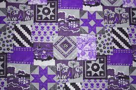 Purple Patchwork Quilt Fabric Texture Picture | Free Photograph ... & Purple Patchwork Quilt Fabric Texture Adamdwight.com