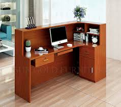 black color furniture office counter design.  counter black color furniture office counter design used reception desk  szrtb0032 with foshan sun gold co ltd