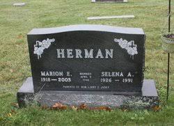 Selena Aldridge Henry Herman (1926-1991) - Find A Grave Memorial