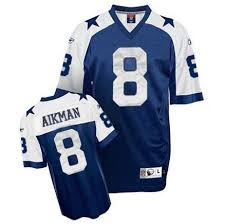 Reebok Throwback Jersey Size Chart New 8 Authentic Troy Aikman Navy Blue Reebok Nfl Mens