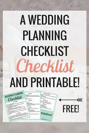Best 25 Printable Wedding Planning Checklist Ideas On Pinterest