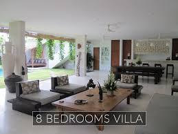 5 Bedroom Villa Seminyak Style Design Impressive Decorating