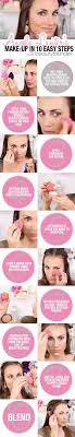 full face makeup tutorial using a beautyblender in 10 steps ogorgeous