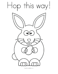 Coloring Pages Of Rabbits Cute Bunny Coloring Pages Bunny Pictures