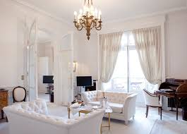How the white furniture can provide a stylish look to your rooms?